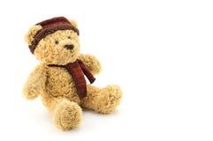 Игрушка куклы рождества плюшевого медвежонка Стоковое Изображение