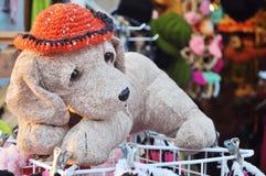 Игрушка куклы собаки Стоковое Изображение