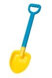 игрушка лопаткоулавливателя путя клиппирования пляжа Стоковые Изображения