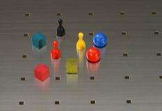 игрушка магнита деревянная Стоковые Фото