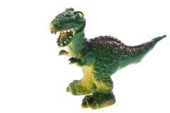 игрушка макроса динозавра Стоковая Фотография