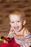 игрушка мальчика Стоковые Фотографии RF