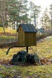 Игрушка маяка, Kopu, Hiiumaa, Эстония Стоковое Фото