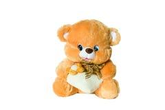 игрушка медведя коричневая Стоковое Изображение