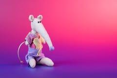 игрушка милой ткани handmade Стоковая Фотография RF