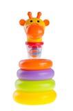 Игрушка младенца. игрушка пирамидки младенца Стоковые Фото