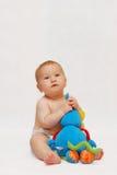 игрушка младенца Стоковые Изображения