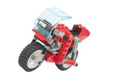 игрушка мотоцикла lego Стоковые Изображения RF