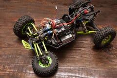 Игрушка модели автомобиля Rc без колеса Стоковое Фото