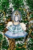 Игрушка Нового Года Снег-девушки Стоковые Изображения