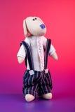 игрушка озадаченная doggy Стоковая Фотография