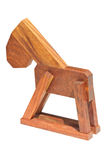 Игрушка дома деревянная для детей. Стоковые Изображения RF
