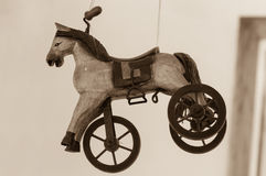 Игрушка лошади стоковые изображения rf