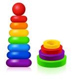 игрушка пирамидок Стоковая Фотография