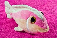 игрушка плюша рыб Стоковые Фото