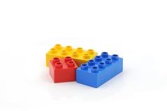 игрушка покрашенная блоками Стоковая Фотография