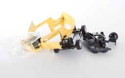 игрушка разобранная автомобилем Стоковое Фото