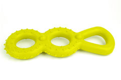 игрушка резины собаки стоковое фото