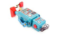 игрушка робота Стоковое фото RF