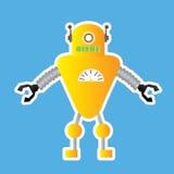 Игрушка робота иллюстрация штока