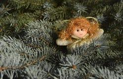 Игрушка рождества в форме ангела Стоковая Фотография