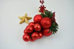 Игрушка рождества с звездой Стоковая Фотография RF