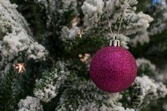 Игрушка рождественской елки Стоковое фото RF