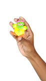 игрушка руки Стоковая Фотография RF