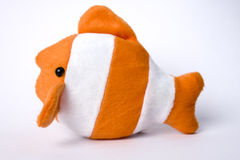 игрушка рыб мягкая Стоковое фото RF