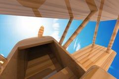 Игрушка самолета Стоковое Изображение RF