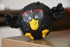 Игрушка сердитых птиц фиолетовая Стоковые Фото