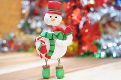 Игрушка снеговика рождества Стоковое Фото