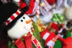 игрушка снеговика украшения Стоковые Изображения RF
