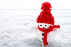 Игрушка снеговика Стоковая Фотография