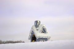 игрушка снежка дома рождества Стоковое Фото