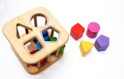 игрушка сортировщицы формы Стоковое фото RF