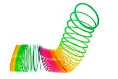 игрушка спиральной пружины Стоковые Изображения