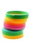 игрушка спиральн весны Стоковые Изображения