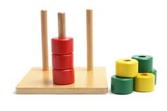игрушка стога вида деревянная стоковые фотографии rf