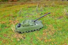 Игрушка танка Стоковая Фотография