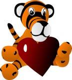 игрушка тигра новичка иллюстрация штока