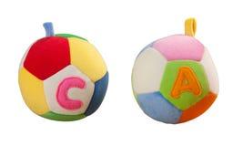 игрушка ткани шарика Стоковое фото RF