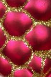 игрушка украшения рождества предпосылки Стоковое фото RF