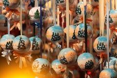 Игрушка украшения рождества Стоковые Изображения RF