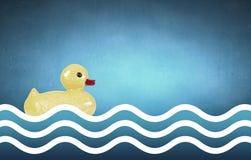 Игрушка утки Стоковая Фотография