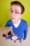 игрушка человека медведя Стоковая Фотография RF