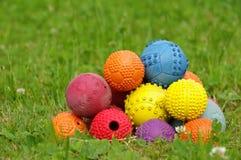 Игрушка шарика на собаки 3 стоковое изображение
