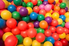 игрушка шариков цветастая пластичная Стоковая Фотография RF