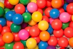 игрушка шариков цветастая пластичная Стоковые Изображения