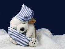 игрушка щенка сонная Стоковое Фото